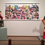 グルービー - 手塚氏の原画が大量に展示されています。