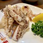 桂園 - イカゲソの唐揚げ350円