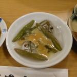 111067454 - じゅんさい酢味噌