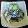 川富 - 料理写真:付きだしは〆サバでした。