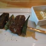 ポジャンマチャ - 牛肉の串焼き