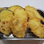 天九 - 料理写真:とり天定食