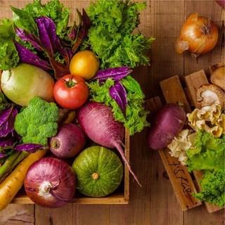 『想いの詰まった野菜が主役』