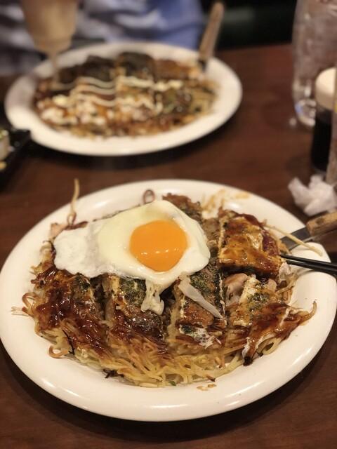 広島焼 HIDE坊 神田店の料理の写真