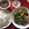 四川 - 料理写真:本日のCランチ、豚肉とピーマン炒めを願いしました。