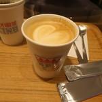ネオ喫茶 KING - カフェラテ