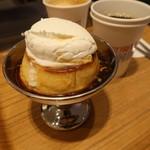 ネオ喫茶 KING - 平飼い卵の濃厚プリン