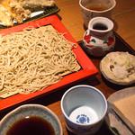 玄 田むら - 料理写真:野菜天せいろ(税込1500円)