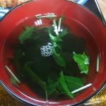鉢の木 - お吸い物❗