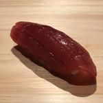 sushirizaki - マグロ漬けの握り。 美味し。