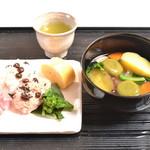 横浜元町 香炉庵 - 一汁おむずび膳