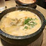 Wagyuuyakinikumo - 石焼きピリ辛クッパ。