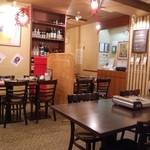 四川火鍋専門店 みやま - 奥には半個室っぽいスペース有