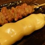 binchouyakitoritosakashoukai - せせり・ササミチーズ