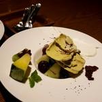 ワイン食堂 リコロソ - ピスタチオのジェラート
