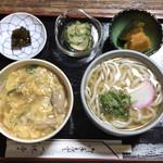 一休亭 - ●親子丼セット¥1200税込 ・親子丼 ・うどん温を選択