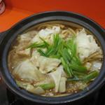 いこい - 料理写真:鍋ホルうどん