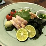 Tabegotoyanorabou - 鶏肉のたたき