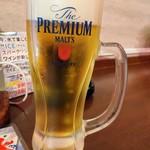 水炊き・焼き鳥 とりいちず酒場 - プレミアム・モルツ199円