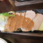 三陸ワイン食堂 kerasse TOKYO - メインのポーク