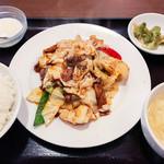 餃子の郷 - 回鍋肉定食