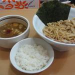 麺や朱雀 - Aランチ(濃厚つけ麺)