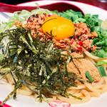 三田製麺所 - 台湾まぜそば
