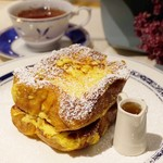 ボンヌ カフェ - ふんわり自家製フレンチトースト