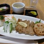 道の駅草津 グリーンプラザからすま ベジカフェ - 料理写真:ベジカフェご飯のメイン