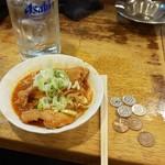 立飲み たきおか - チゥウハイとスタミナ豆腐
