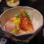 きんきん亭 - 料理写真:ボタンエビ