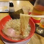 machinomendokororyuuya - 琉とんこつラーメン 麺は細麺と中太麺から選べます。細麺にしました。(19-07)