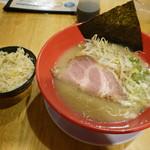 machinomendokororyuuya - 琉とんこつラーメン\680とミニ炒飯\150(19-07)