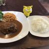 youshokukicchinkokoro - 料理写真:ハンバーグ&ライス ※あらびきハンバーグ和牛100%1609 1,080円(税込)