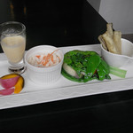 Plage - 野菜プレート