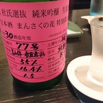 111124223 - 【まんさくの花】純米吟醸  杜氏選抜ピンクラベル