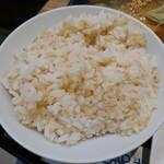 サバープラス - ぷちぷち玄米とごはん。おかわり自由なのも素敵!