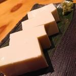 日本酒庵 吟の杜 - チーズ豆腐
