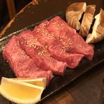 ホルモン焼 御殿 - 上タン塩(ヤバイ)