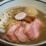 中華そば 堀川 - 料理写真:濃厚煮干、味玉チャーシュー増しUP