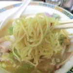 高島ラーメン - 麺
