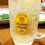 香港麺 新記 - ハイボール:520円