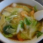 五十五番 - 料理写真:海老麺 ¥900