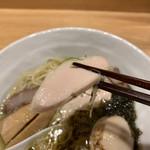 らぁ麺 山雄亭 - 鶏チャーシュー