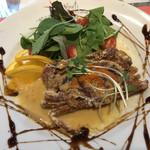 イタリア食堂 イルキャンティ河口湖 - ソフトシェルクラブの唐揚げ 1ピース