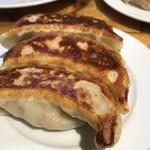 神田餃子屋 - ランチセットの半黒豚餃子