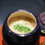 祇園 にしかわ - 大原の濃い湯葉、 賀茂茄子