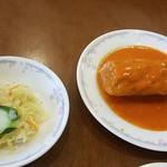 海燕 - サラダとロールキャベツ