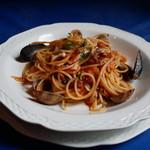 ペペロンチーノ - 料理写真:ペスカトーラ