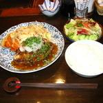 ビストロ鉄彩 - 和風おろしハンバーグ
